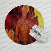 Babaite  ONE PUNCH-MAN Silicone Pad to Mouse Game Size for  20x20cm Gaming Mousepads 4