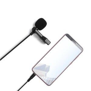 Image 2 - MAONO yaka mikrofon Mini taşınabilir mikrofon kondenser klipsli yaka kablolu yaka Mikrofo/Microfon telefon Laptop için