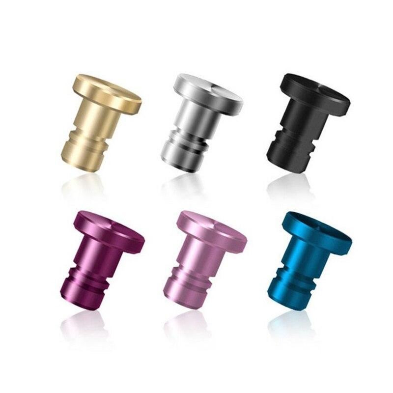 Beautiful Mini Alloy PU Dust Plug Earphone Jack Plug Anti Dust Plug 3.5mm Phone Accessories for iPhone 5S 6 plus Samsung xiaomi