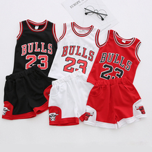 fc874381864 SFT-113 Hot Summer Baby Boys And Girls Unisex Sports Jerseys Michael Jordan  Basketball Vest