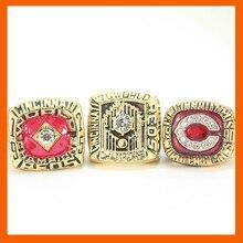 1975 1976 1990 Цинциннати чемпионат мира серии кольцо, 3 шт. кольцо набор сбора