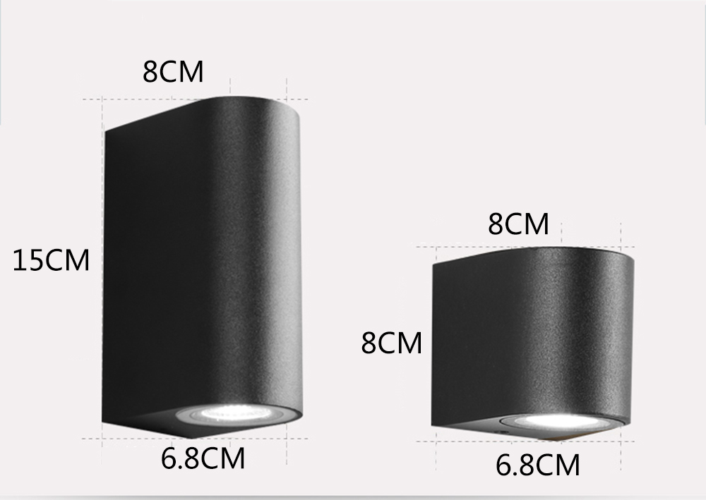 JIFENGCHENG LED բացօթյա անջրանցիկ պարզ պատի - Ներքին լուսավորություն - Լուսանկար 5