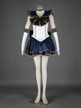 Сейлор Мун аниме косплей Meiou Setsuna косплей женщин костюмы для хэллоуина