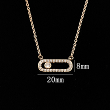Crystal Bead Pendant Necklace For Women