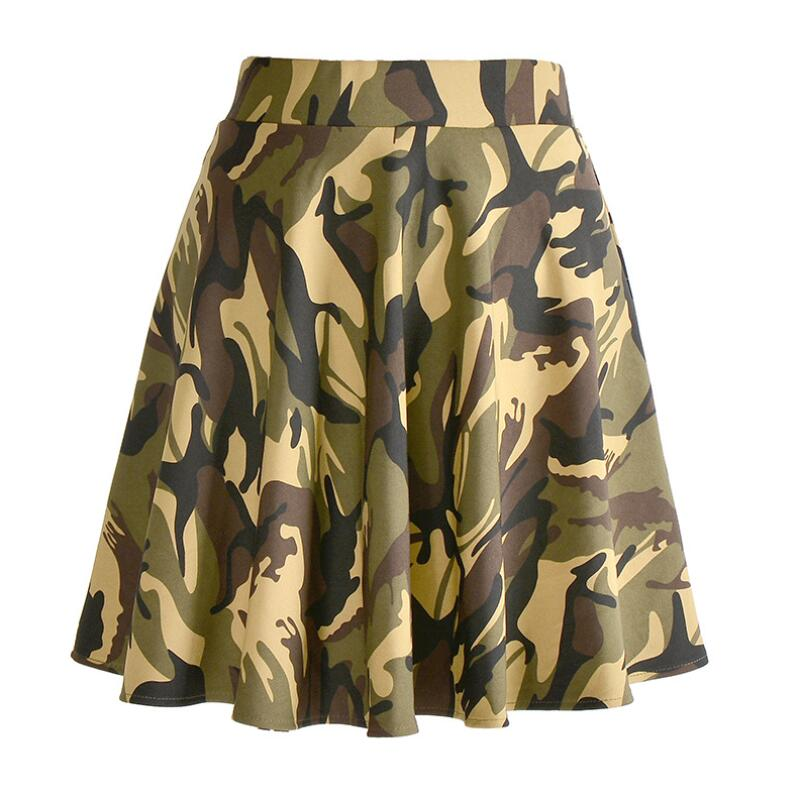 8ded6822d WayToIan 2018 Hot Fashion Skirts Plus Size Sexy Women's Summer Pink  camouflage Skirts 3D Digital Printing Skirts Plus size-in Skirts from Women's  Clothing ...