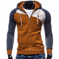 Casual Winter Hoodies Men Zipper Sweatshirt Hoodie Male Tracksuit Suit Slim Fit Mens Hoody Sudaderas Hombre Pullower Tops