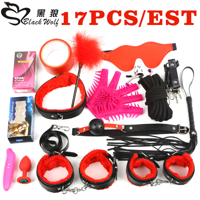Black Wolf Adult Games Sex Toys For Couples Bdsm Bondage Sexy Toys Bondage Slave Bondage Sex Product Ball Gag Rope Whip