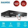SANNCE 8CH 5в1 1080N CCTV DVR цифровой видеорегистратор домашняя система видеонаблюдения Полный H.264 HDMI P2P удаленный доступ Onvif