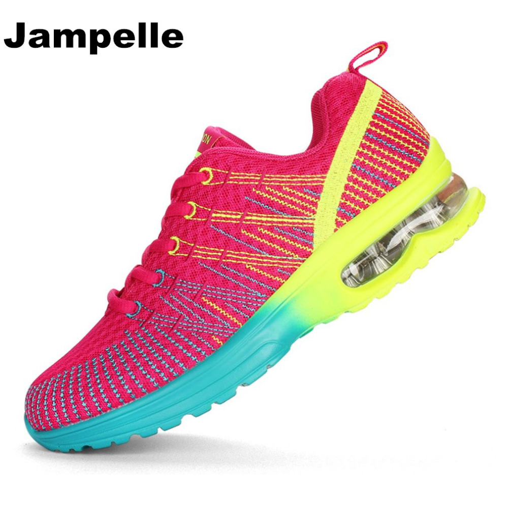Jampelle Sport Running Shoes Woman Outdoor Breathable Comfortable Couple Shoes Lightweight Athletic Mesh Sneakers For Women New