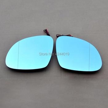SmRKE Dla Skoda Yeti Naklejka Na Samochodowe Lusterko Wsteczne Szerokokątny Hiperbola Niebieskie Lusterko Wsteczne Strzałka LED Włączanie światła Sygnalizacyjne