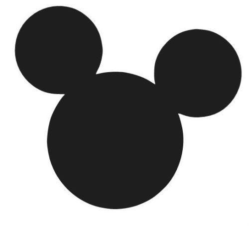 Wallpaper Kepala Mickey Mouse Hitam Putih
