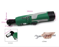 New 3/8 9.5mm Wireless electric ratchet wrench Electric Wrench Scaffolding lithium Electric drill tool wrench