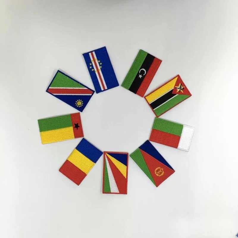 Tadjikistan broderie drapeau patch Duschanbe ville monde pays emblème pour moto club manteau fer sur coudre sur gauche poitrine chemises