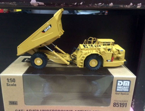 New Caterpillar Cat AD45B Underground Articulated Truck 1/50 DieCast 85191 By DM