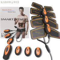 NEW Rechargeable Electric Muscle Stimulator EMS Body Slimming Beauty Machine Muscle Exerciser Electro Body Toning Massager