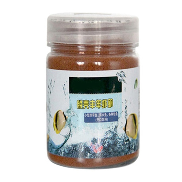 50/100/150g Brine Shrimp Eggs Artemia Fodder Ocean Healthy Nutrition Fish Food Feeding Fish Aquarium Supplies