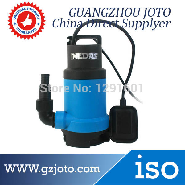 350W Protable 220V Electric Submersible Sewage Water Pump With Float Ball ,Sewage Submersible Pump