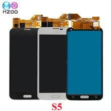 МЗОО ЖК-дисплей Экран для samsung S5 I9600 SM-G900 G900A G900F G900P G900T ЖК-дисплей Дисплей тела Панель дигитайзер Ассамблеи заменить Запчасти