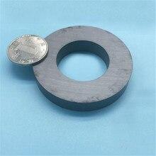 Zion anel magnético de ferrite, anel de ímã redondo com 3 peças dia70x10 mm hole32mm y30 70*10 32mm extremo temperatura de trabalho 250 celsius
