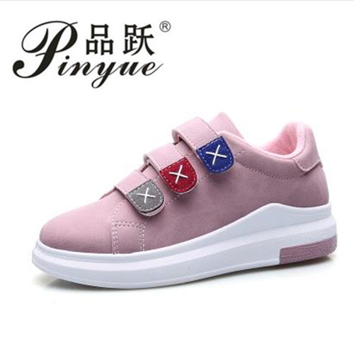 New 2018 Autumn Women Casual Shoes Bling Platform Lace Up Flats Woman Breathable Walking Students Shoes Zapatos Mujer Elevator