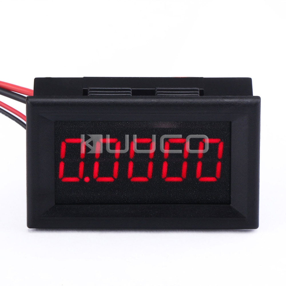 red led 0 digital ammeter dc 12v 24v ampere. Black Bedroom Furniture Sets. Home Design Ideas