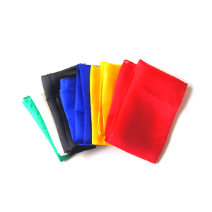 Image 2 - 1 Pcs 60* 60 Cm Colorful Silk Scarf Magic Tricks Close Up Street Stage Magic Prop  Accessories Magicians  Gimmick Illusion