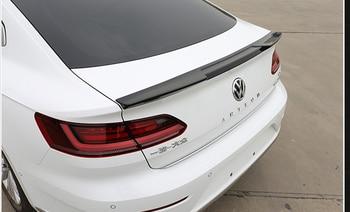 For Volkswagen VW Passat CC 2019 Auto ABS Plastic Unpainted Color Rear Trunk Wing Lip Spoiler Car Accessories
