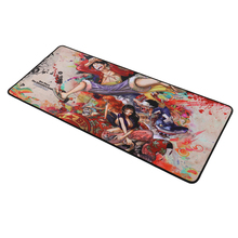 Large Monkey D. Luffy Portgas D Ace Mousepad 70x30cm