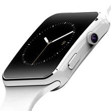 X6 Смарт-часы с поддержкой sim-карты TF h камера умные часы Bluetooth циферблат/с камерой сенсорный экран для iPhone Xiaomi Android IOS