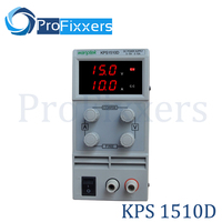 Wanptek KPS1510D Adjustable Variable Portable Mini DC Switching Power Supply Output 0 15V 0 10A Support AC110 220V