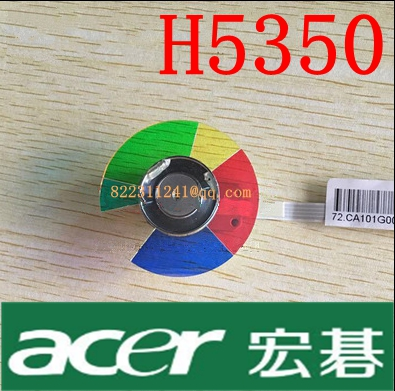 NEW original Projector Color Wheel for Acer H5350 wheel color free shipping new original projector color wheel for vivitek d742hdc color wheel 1pcs