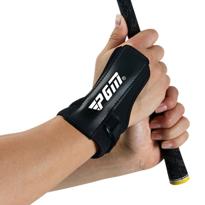 Golf Training Aids Adjustable Swing Wrist Brace Band Correct Golf Clubs Wrist Gesture Practice Tools Beginners Golf Accessories