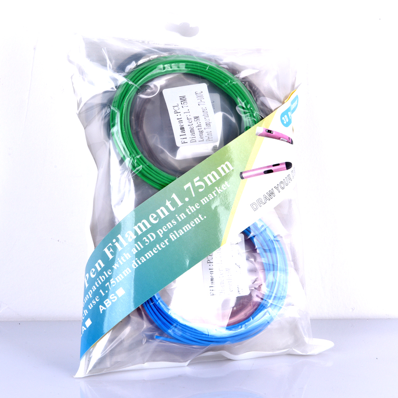 3d qələm aşağı temperaturlu filament PCL plastik 1.75mm 3D - Ofis elektronikası - Fotoqrafiya 6