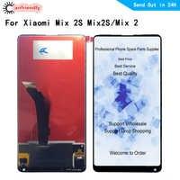5,99 Für Xiao mi mi x 2S mi x2S mi x 2 mi X2 LCD Display + Touch screen Digitizer frame Assembly Ersatz Zubehör für mi mi x2 s