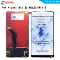 5.99 For Xiaomi Mix 2S Mix2S Mix 2 MIX2 LCD Display+Touch Screen Digitizer frame Assembly Replacement Accessories for MI mix2 s