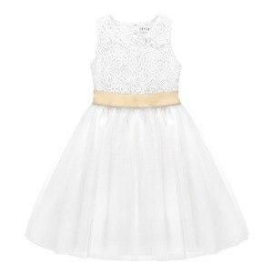 Image 4 - فستان فتيات من TiaoBug للمراهقات برنسيس الزهور ، فستان حفلات زفاف للأطفال ، حفلة عيد ميلاد ، أول مناولة ، فستان رسمي للحفلات الراقصة