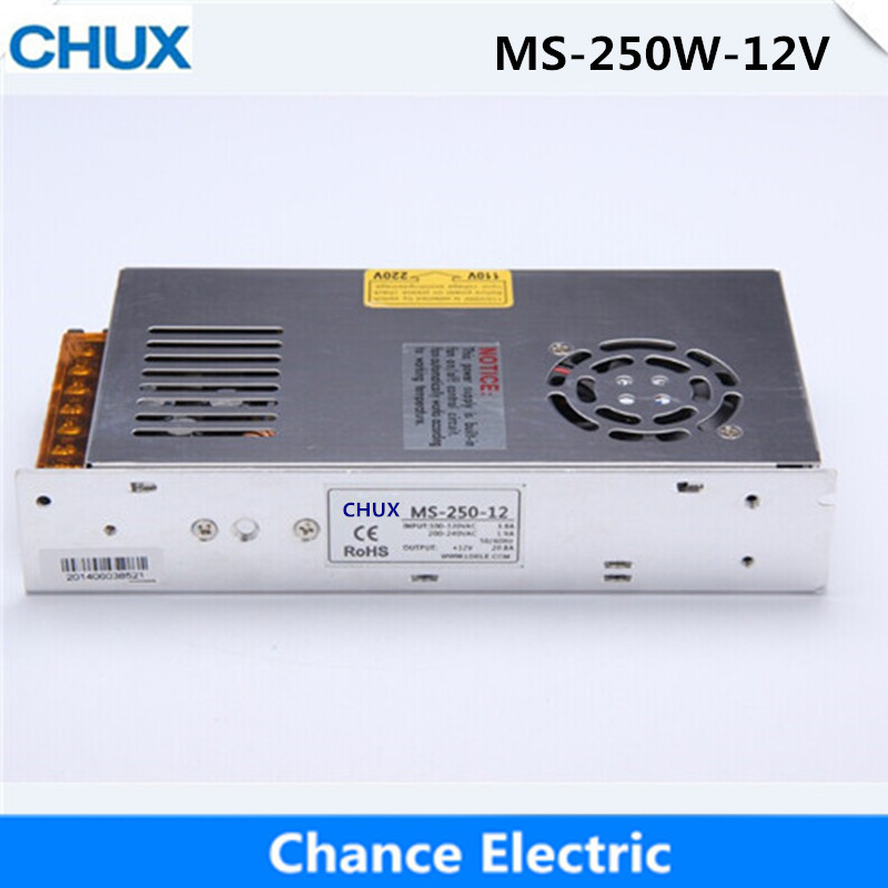 Single Output Switching Mode Power Supply Mini Size MS series (MS-250W-12V) Smaller Volume LED Power Suppliers 250W 12V 20A single output switching mode power supply mini size ms series ms 250w 15v smaller volume led power suppliers 250w 15v 15a