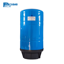 Reverse Osmosis System Vertical Pressure Tank with Composite Base, 20-Gallon Capacity, Blue Color