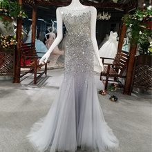 Lisong Mermaid Prom Dresses Evening Dress Floor Length