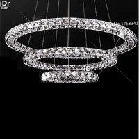 Новинка список современный LED полноценно люстра гостиная блеск кристаллов привело Высококлассные атмосфера
