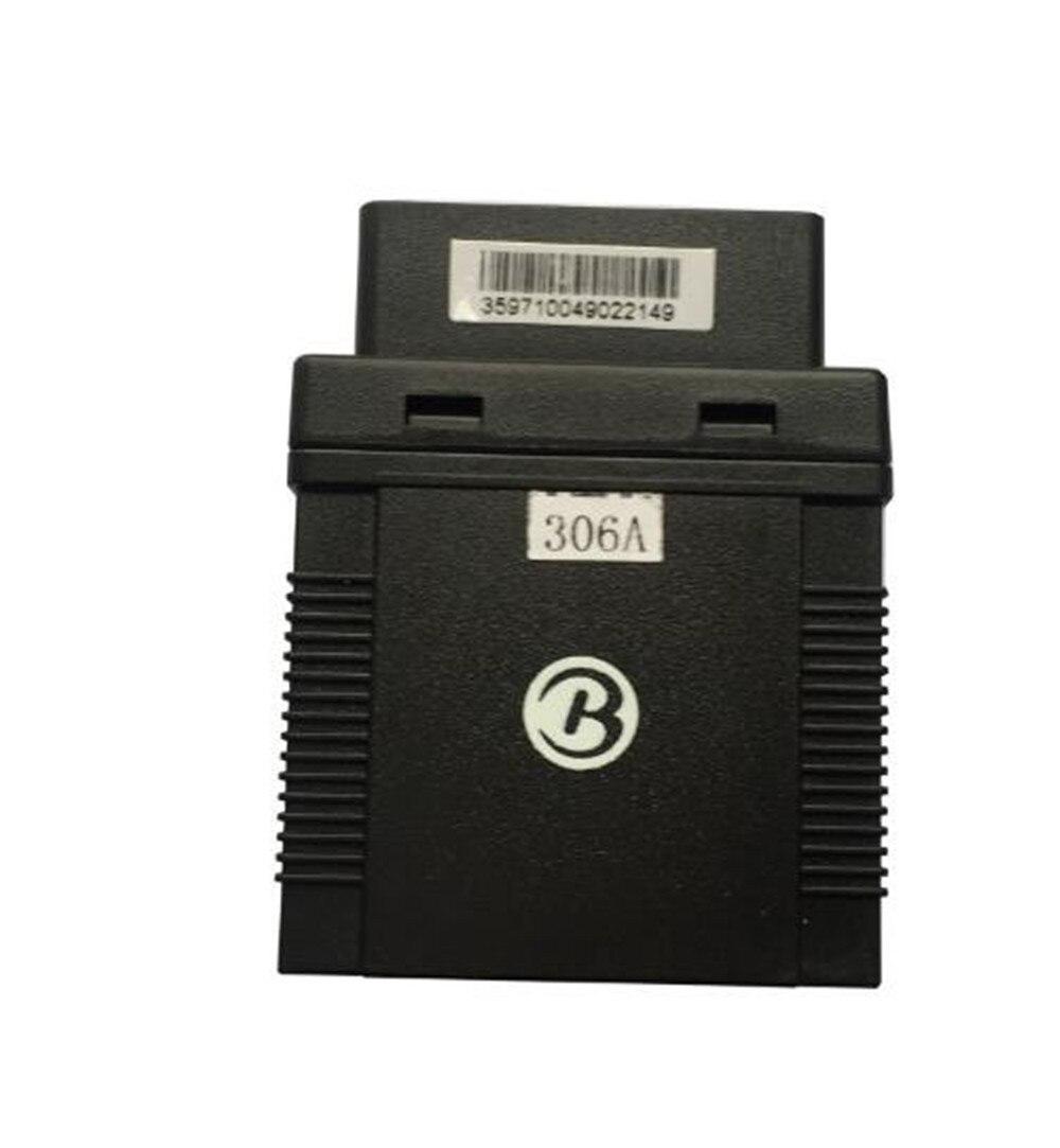 цена на OBD car vehicle GPS Tracker monitor Diagnostics TK306A GPS306A Speed Motion Sennor SOS Alarm Truck Fleet Management APP tracker
