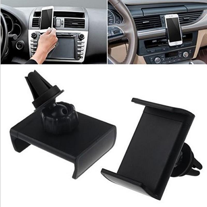 360 Вращающийся автомобилей Air Vent Mount Колыбели подставка держатель для iPhone 5 5S 6 6 Plus GPS для Samsung Galaxy s7 Edge Plus для iPhone SE