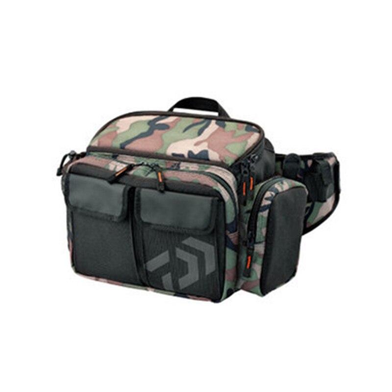 1 PC 30*19*14 cm sacs de pêche multifonctions sac de pêche en plein air paquet de stockage sac de stockage d'outils de pêche de grande capacité
