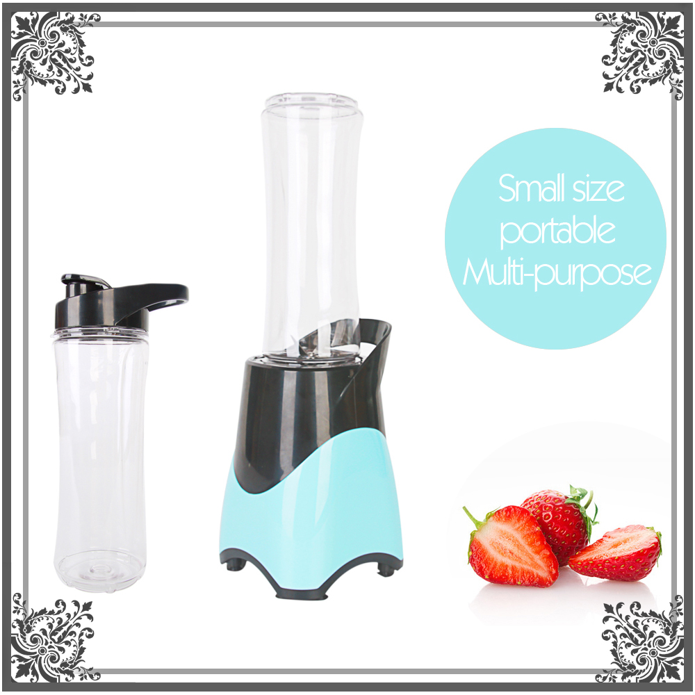 Juicer Cup Fruit Mixing Machine Portable Personal Size Electric Blender Water Bottle 600ml with Cable 300W 220V glantop 2l smoothie blender fruit juice mixer juicer high performance pro commercial glthsg2029