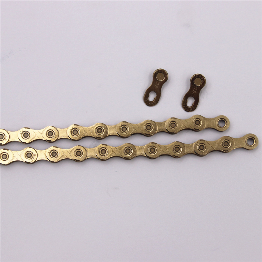 Image 5 - KMC X12 gold Chain 12 Speed Mountain Bike Bicycle Chain Original X12  MTB Road Bike 126L 24 speed Chains-in Bicycle Chain from Sports & Entertainment