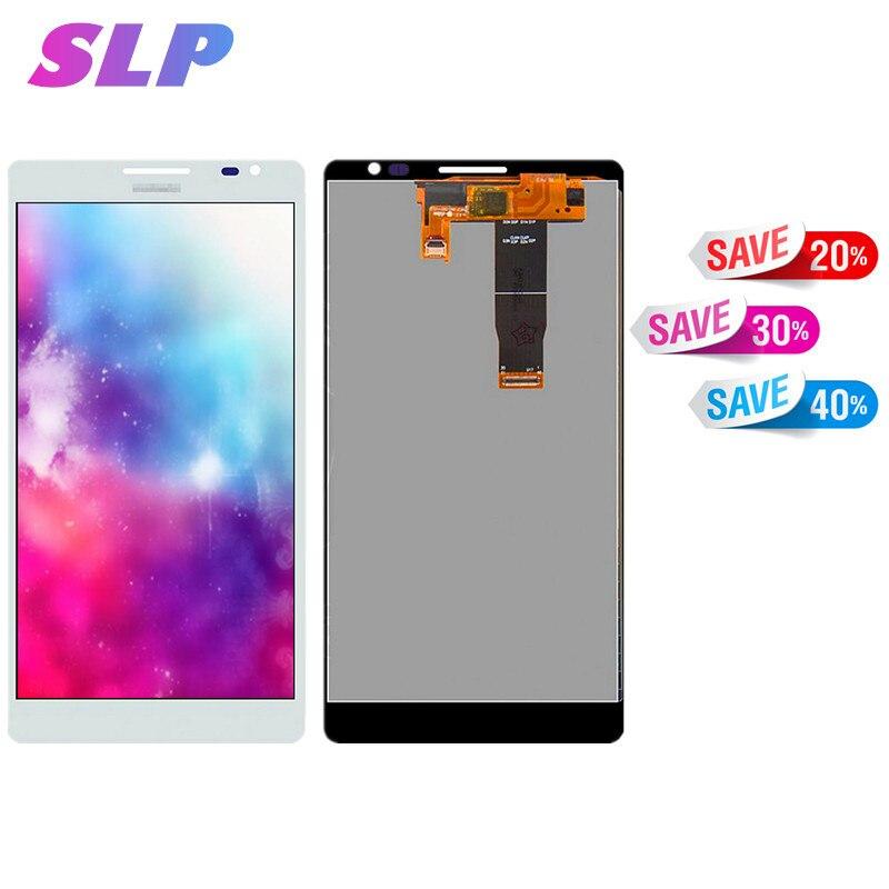 Skylarpu 6.1 pouce blanc Complet LCD pour Huawei Ascend Compagnon MT1-U06 Cellulaire Téléphone LCD Full affichage écran Tactile Livraison Gratuite