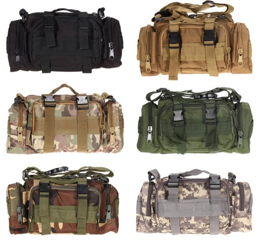 3L Outdoor Military Tactical Waist Bag Camping Hiking Backpack Waterproof camera Hand Bag Pouch outlife new style professional military tactical multifunction shovel outdoor camping survival folding spade tool equipment