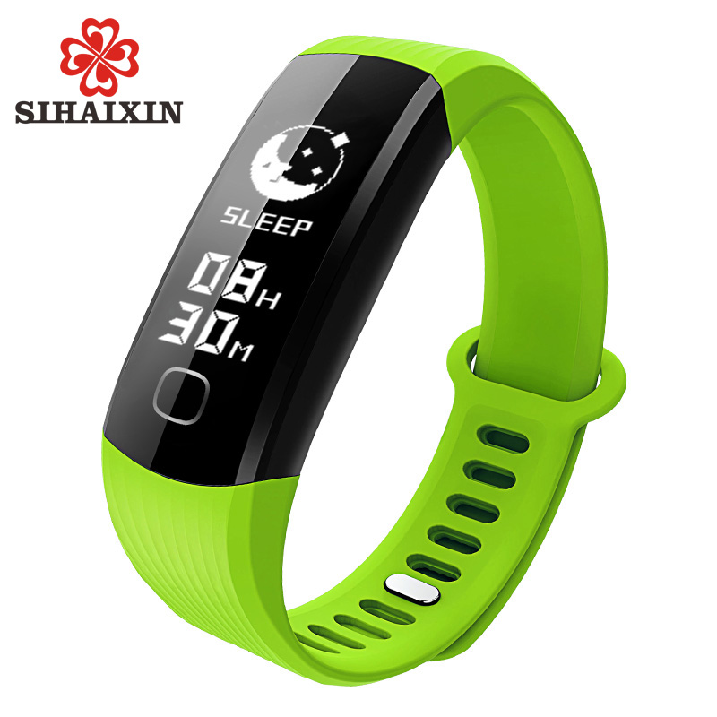 SIHAIXIN Lady Mens Digital Watch Waterproof Electronic Smart Monitor Bluetooth Clock Fashion LED Digital Sport Watches Silicone splendid brand new boys girls students time clock electronic digital lcd wrist sport watch