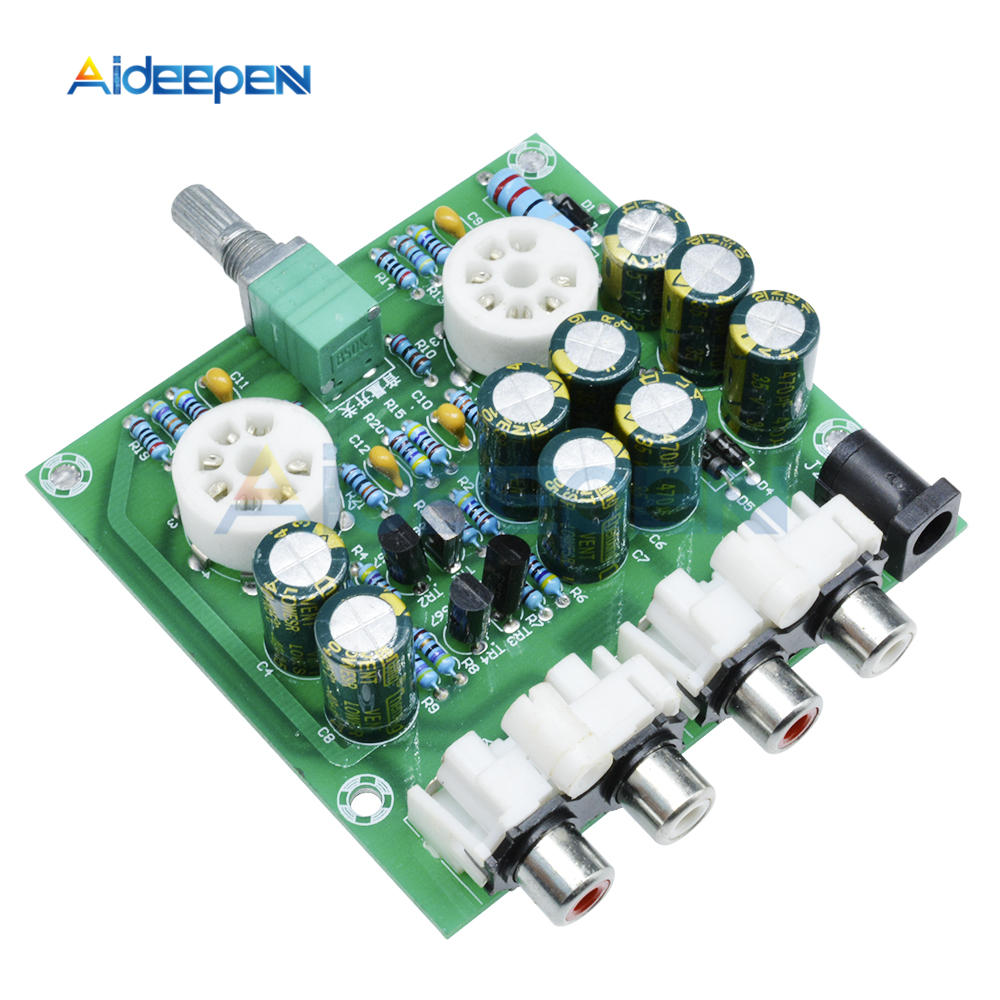 Consumer Electronics Lite Ls29 Pcb Tube Buffer Preamplifier Board Pcb Based On Musical Fidelity X10-d Pre-amp Circuit Moderate Price