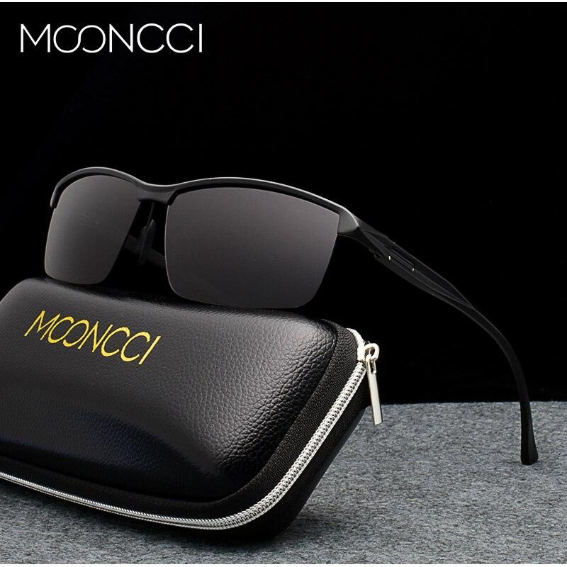 28619706de Comprar Gafas de sol polarizadas de gran tamaño con montura de aluminio  2018 HD para hombre gafas de sol con espejo Lunette Soleil Homme Online  Baratos